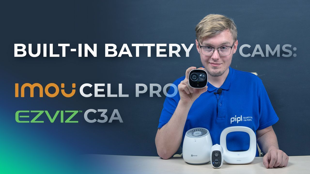 IMOU Cell Pro Wi-fi Camera Vs Ezviz C3A + Connection Via IMOU App & Ezviz App