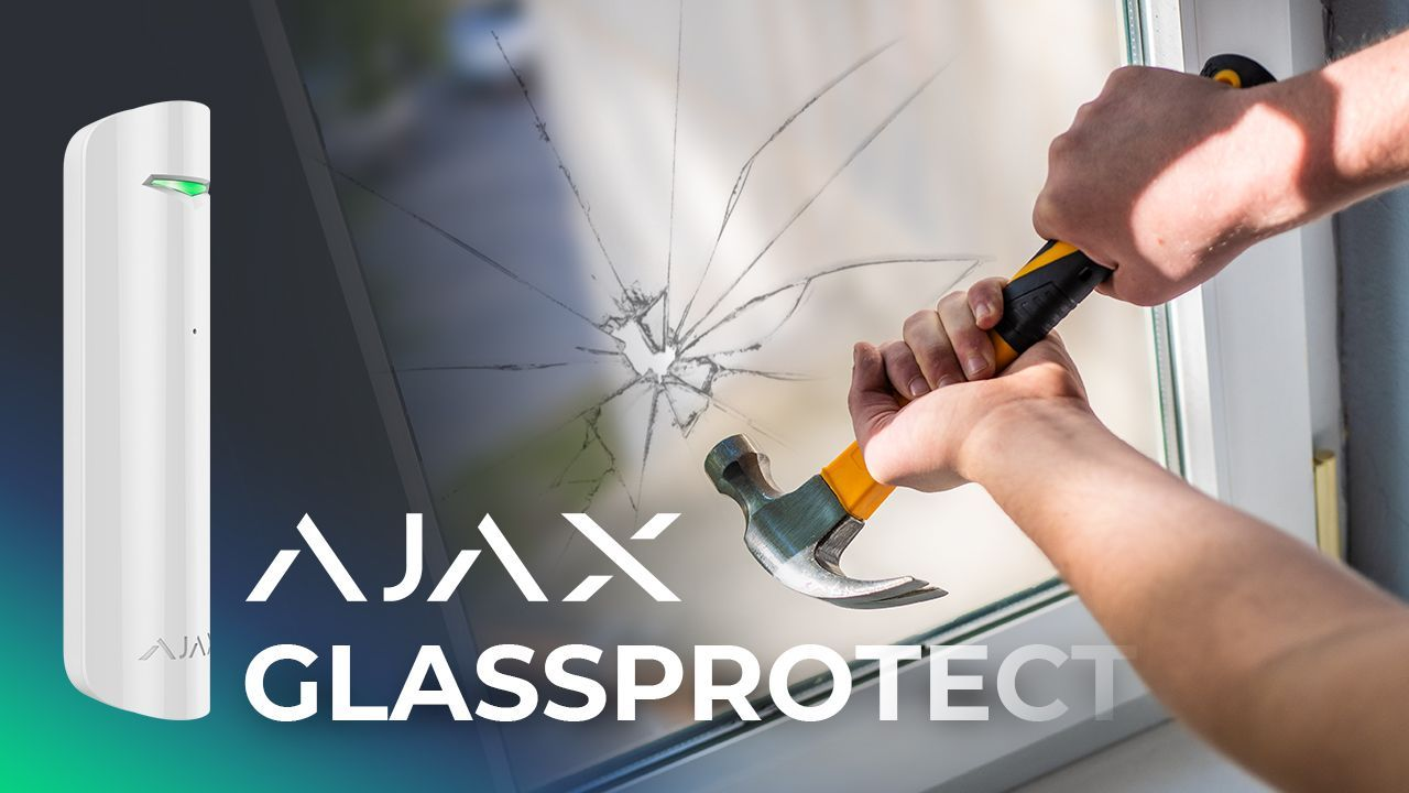 AJAX Alarm System Review: Ajax GlassProtect + Real-Time Test [10/15]