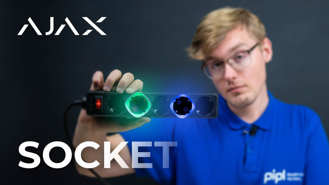 AJAX Alarm System Review: Ajax Socket / What's Smart In Socket?