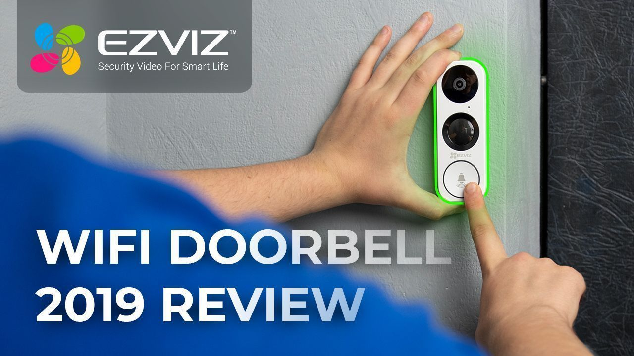 EZVIZ DB1 Brand New Wi-fi Video Doorbell Review + Ezviz App