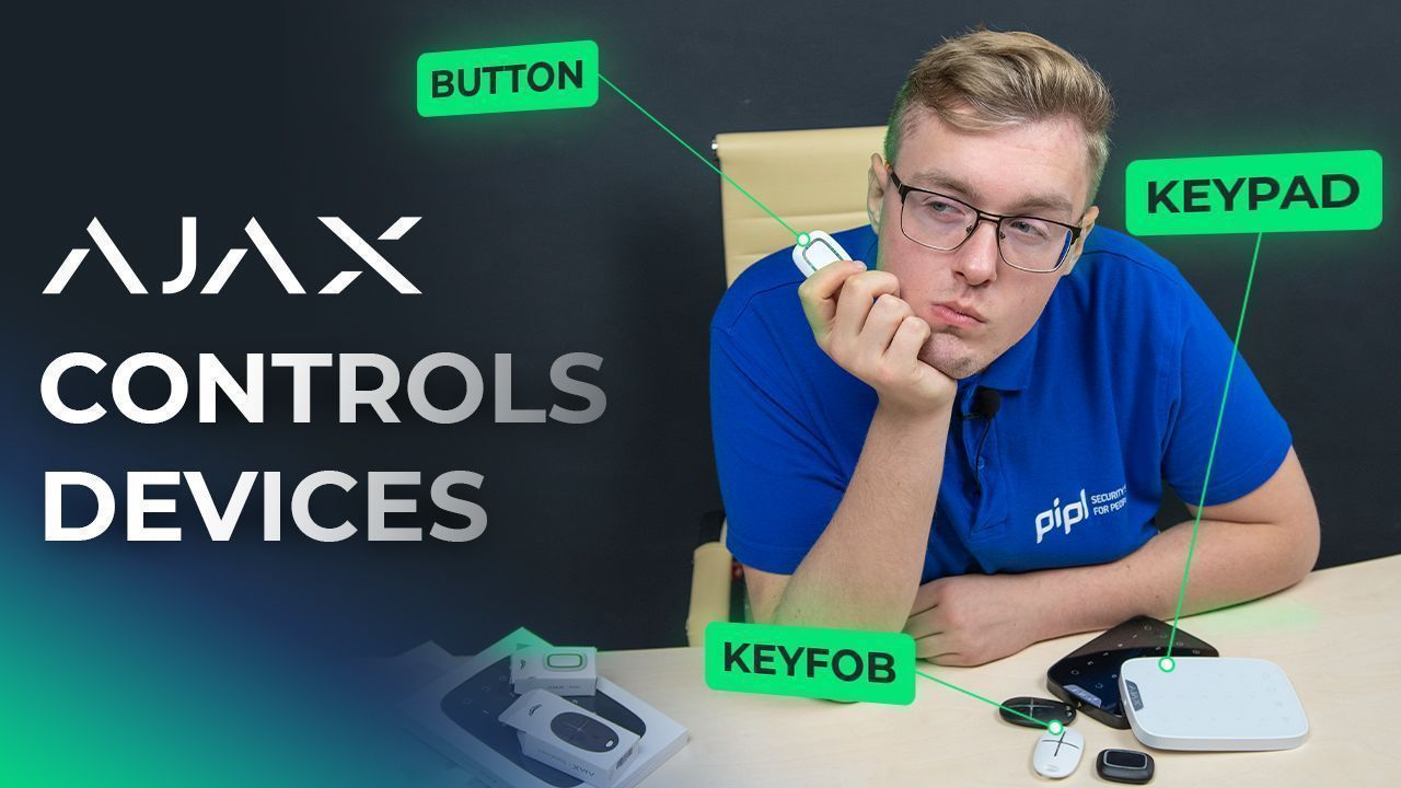 Ajax Alarm System Controls: Ajax Button, Ajax SpaceControl & Ajax Keypad Review