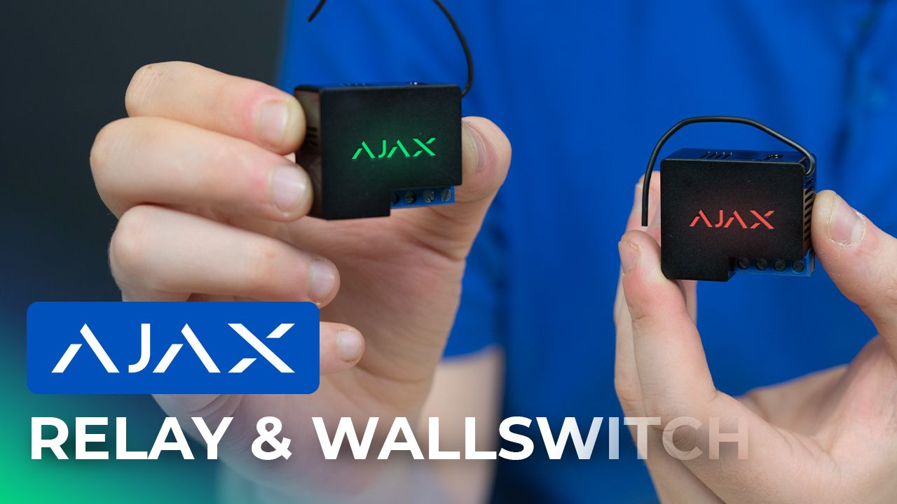 AJAX Alarm System Review: Ajax Relay & Ajax WallSwitch Review
