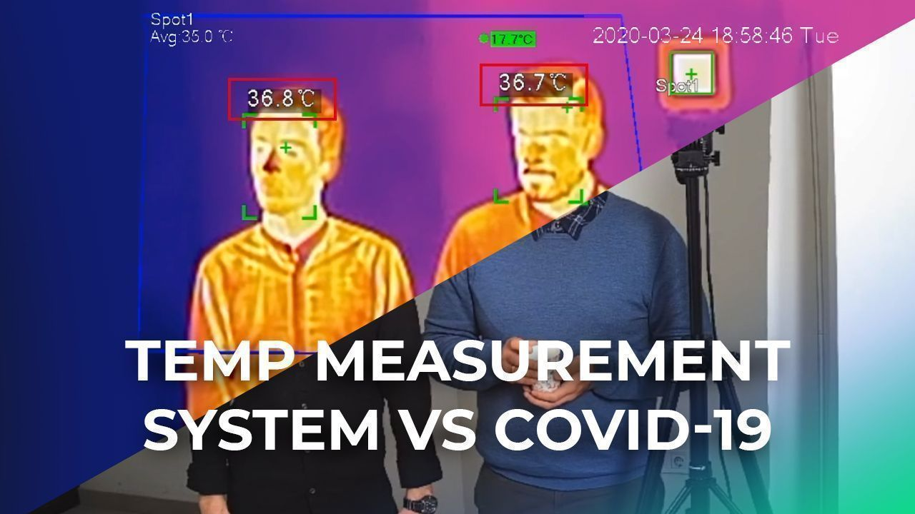 Real Body Temperature Measurement Solution Against Covid-19 Tested! Used By Government In 2020