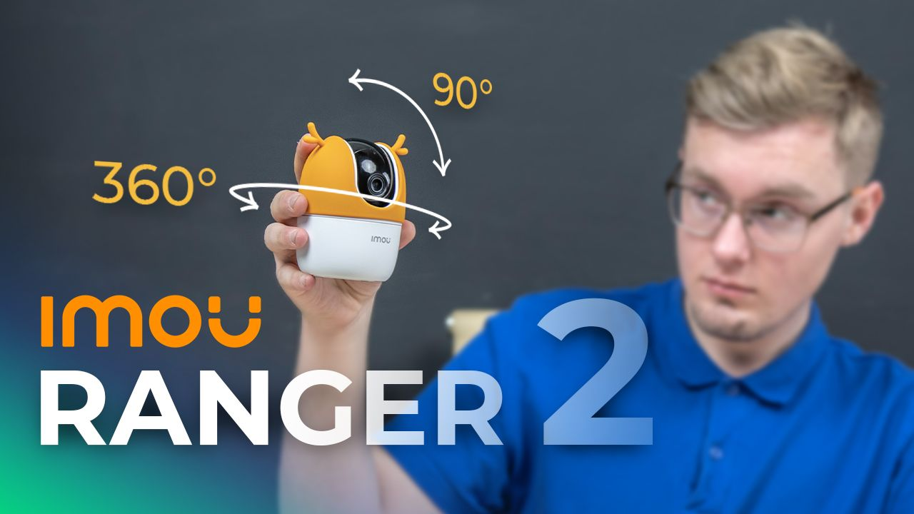IMOU RANGER 2 360 Pan Tilt 1080p Home Wifi Camera Review & Video Test + IMOU Setup