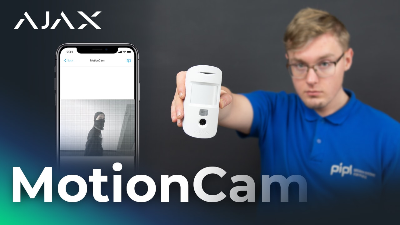 Ajax Alarm System Review: Ajax MotionCam Sensor