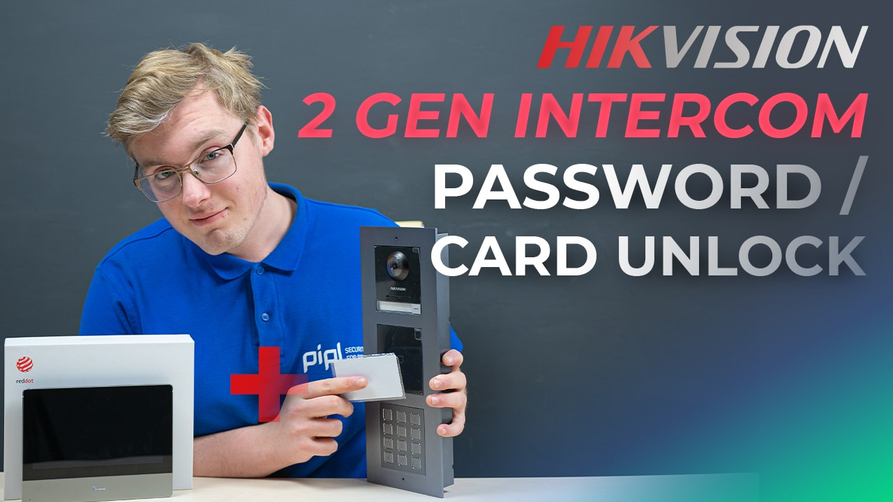 Entry by User Card And Password to Hikvision 2nd Gen Modular IP Intercom System Setup