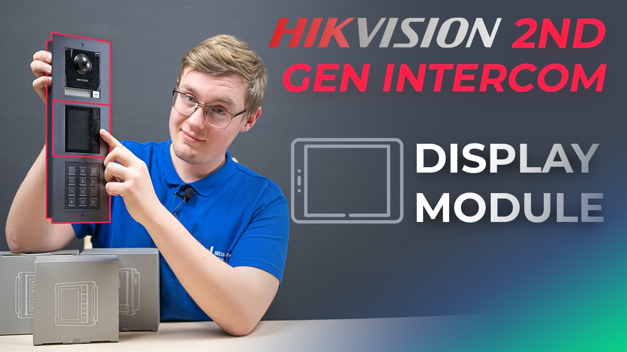 DS-KD-DIS Display Module Features & Setup in Hikvision 2nd Gen Modular Intercom System