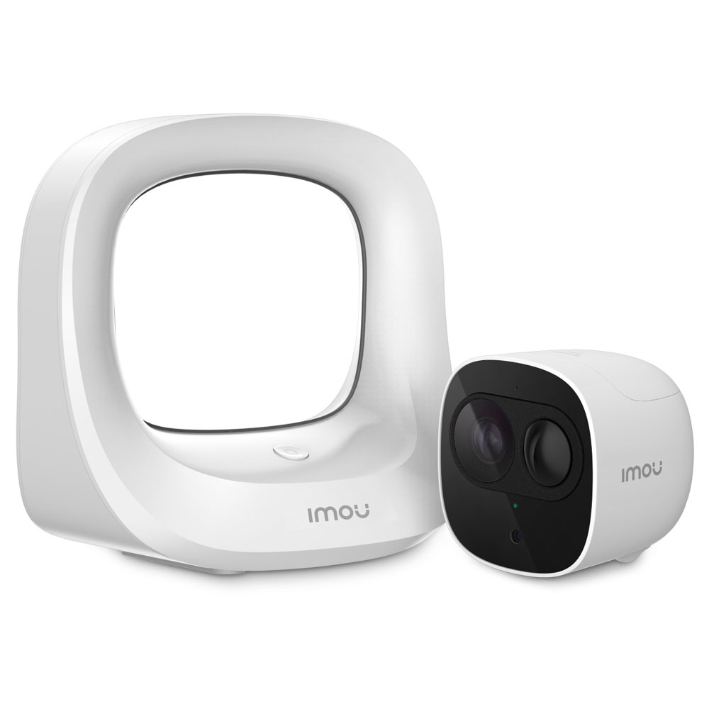 IMOU Cell Pro Kit: 1x Base Sation + 1x IMOU Cell Pro 2MP 1080p Wire-Free Wifi Security Cam