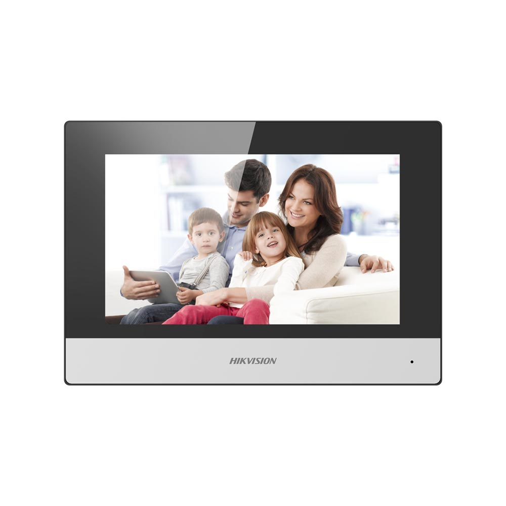 Hikvision DS-KH6320-WTE2-W Two-wire Indoor station white, Wi-fi, 7-inch touch screen
