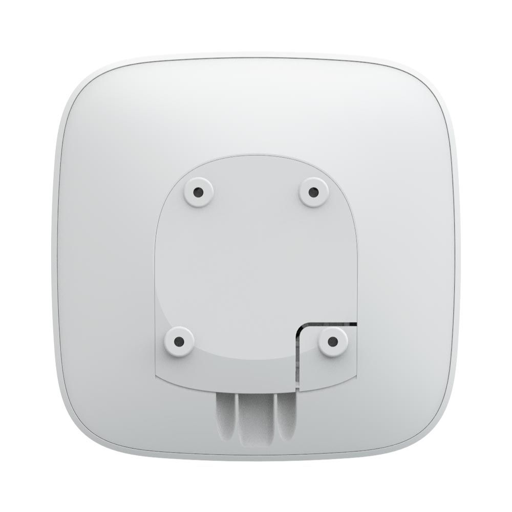 Ajax ReX White Range Extender for Ajax Alarm System, Supports Hub, Hub 2, Hub Plus, 150 Sensors, 35h. Battery