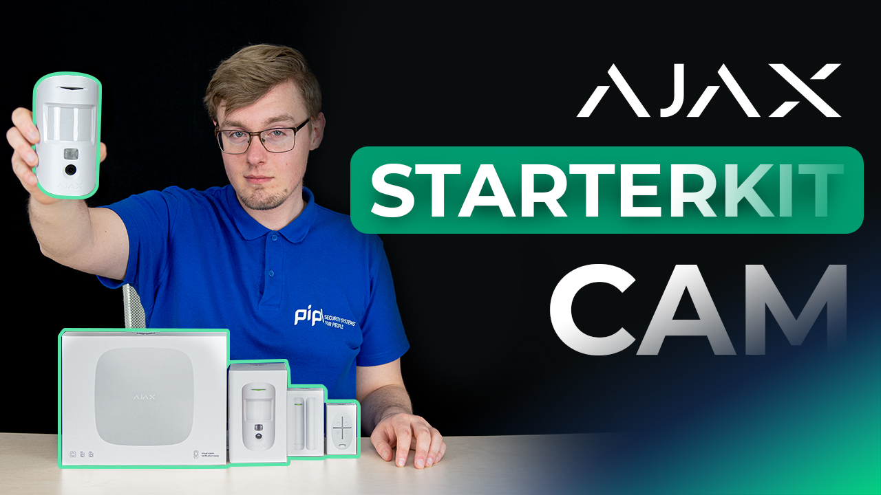 Ajax StarterKit Cam Review: Hub 2 / MotionCam / DoorProtect / SpaceControl Ajax Alarm System