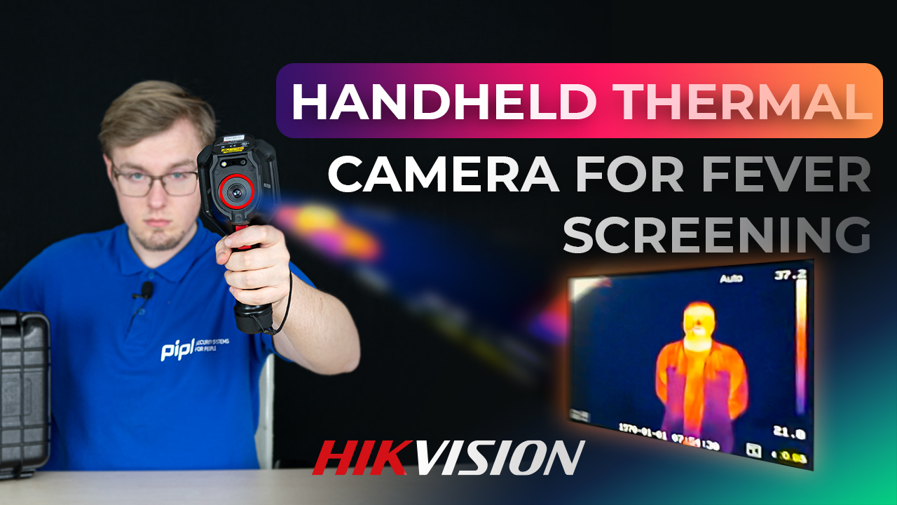 Body Temperature Measurement On Hikvision Handheld Thermal Camera / Thermographic Fever Screening