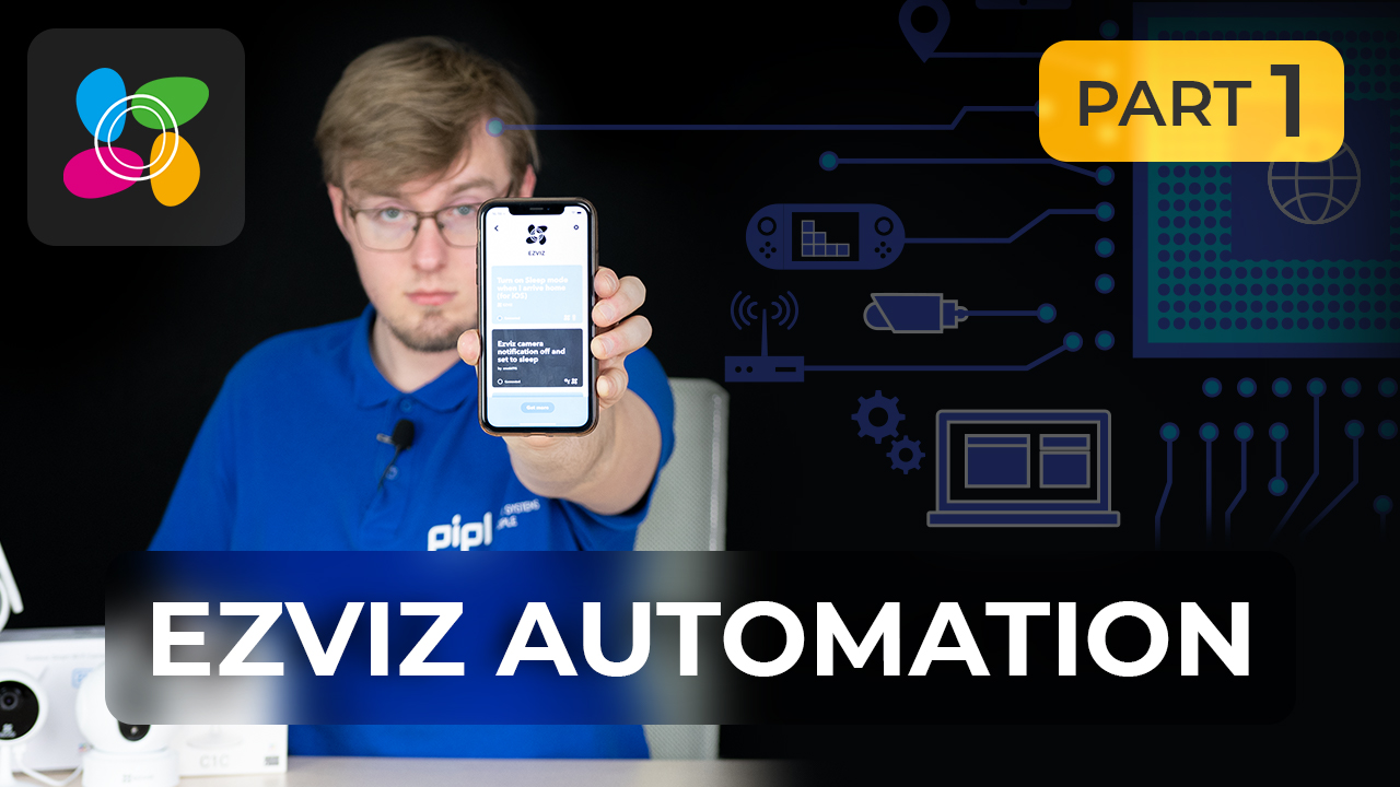 AUTOMATION FOR EZVIZ C1C, C3WN, C6CN: Email Alerts, Google Assistant, Geolocation Tracking via IFTTT [PART 1]