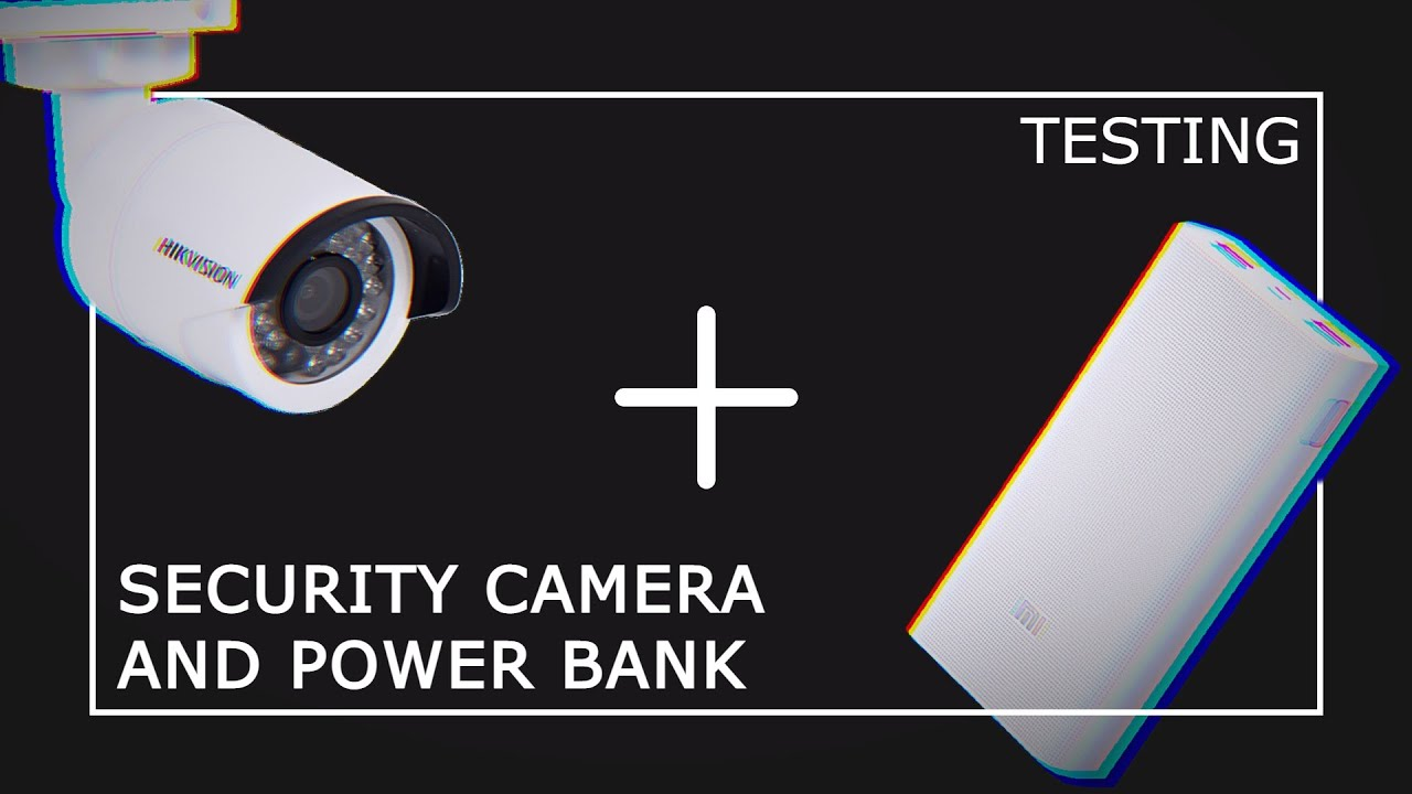 20 000 mah. Portable Charger & Wifi Security Camera – How Long Will It Last? Surprisingly…