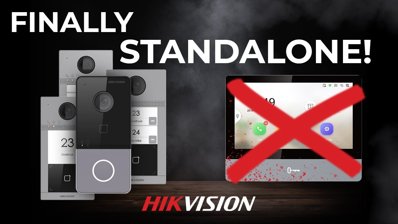 Hikvision Door Phones Are Finally Standalone Trough New Firmware KV6113 / KV8113 / KV8213 [PREVIEW]