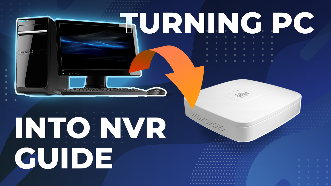 Turning Any PC Into NVR For Video Surveillance System Guide! Showcase & Setup