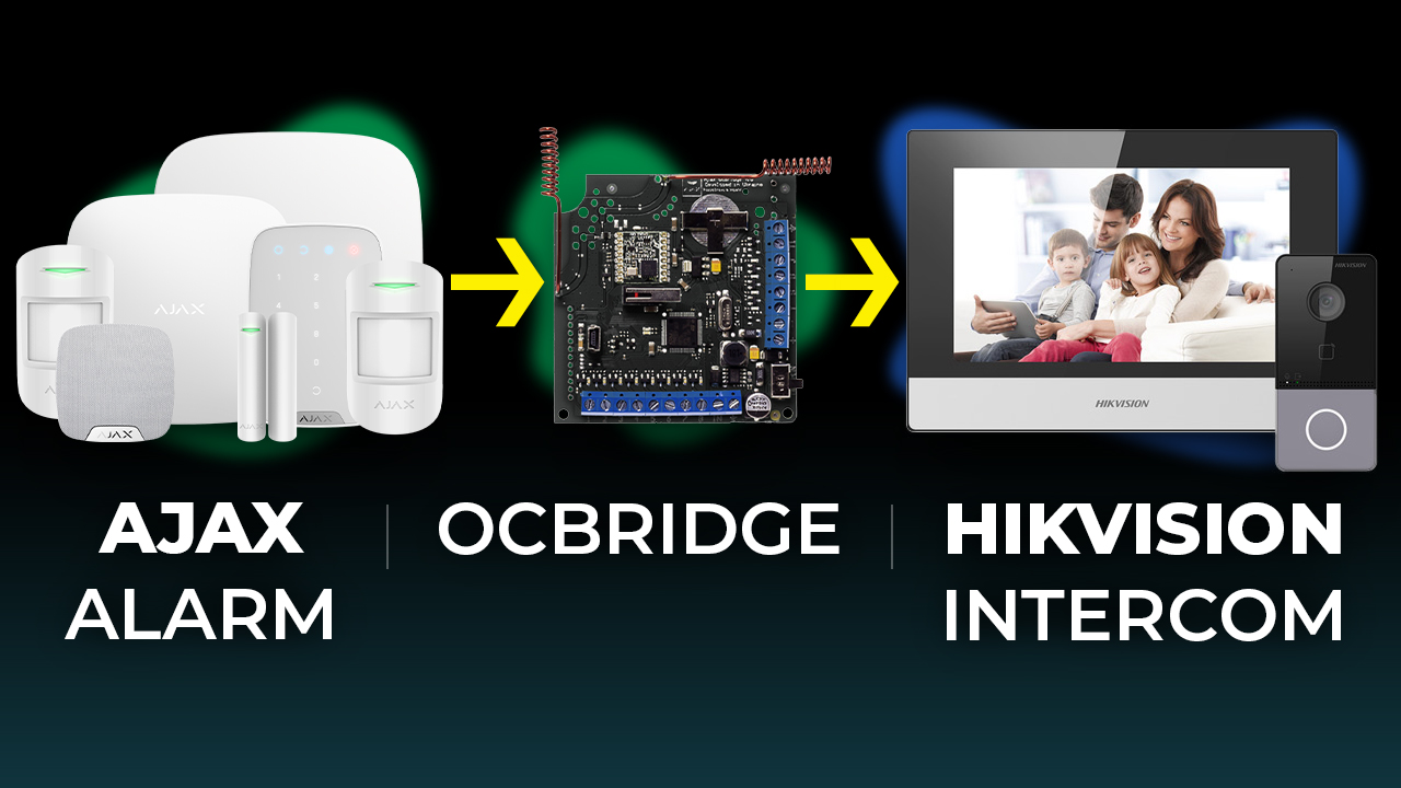 Ajax Alarm Straight Into Hikvision Intercom System? Ajax ocBridge in Action! Demo & Setup