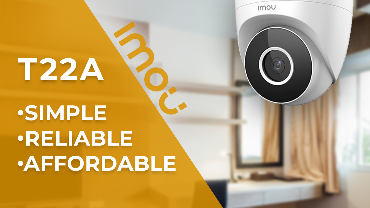 NEW IMOU T22AP 2MP 1080p. Dome IP-cam Review: In Case You Need Decent Camera for 1/3 Price